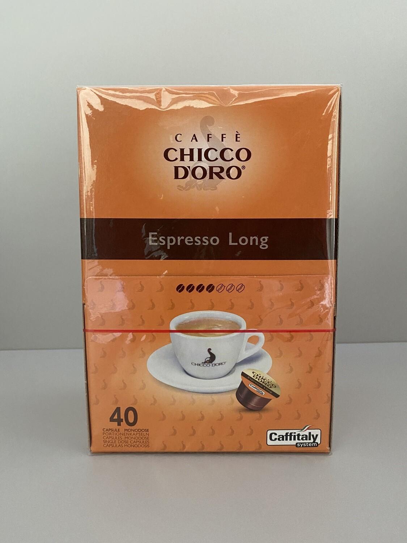 Chicco D'oro Kaffeekapseln Espresso Long