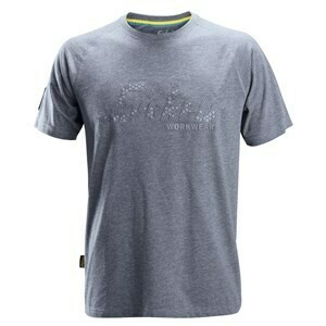 Logo T-shirt - DARK BLUE MELANGE
