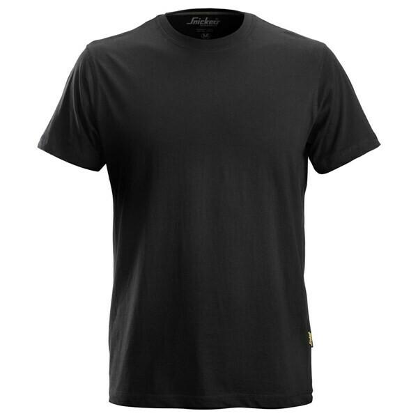 Snickers Classic T-shirt - ZWART