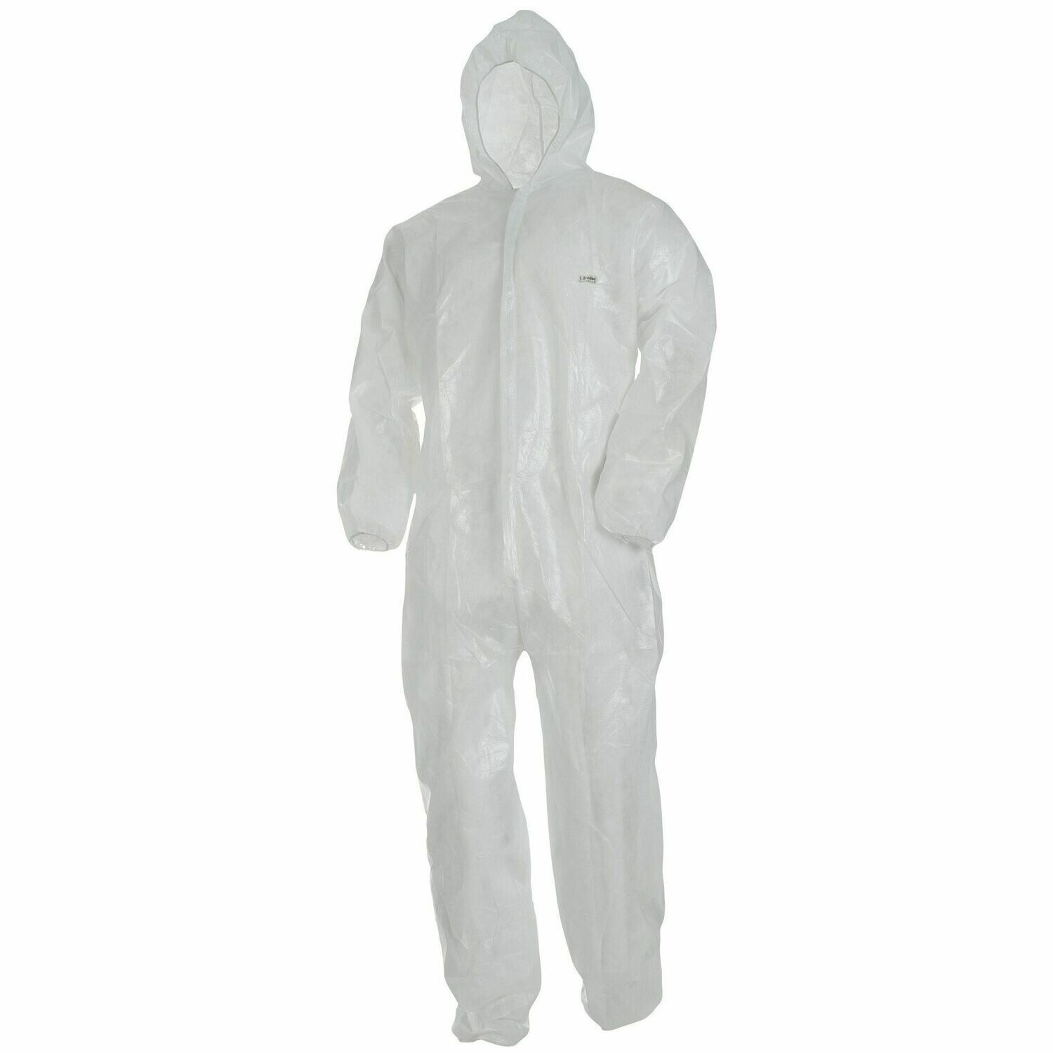 Wegwerp coverall L.Brador WIT DC20 - maat EXTRA LARGE