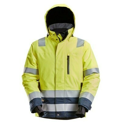 Snickers High-Vis Waterproof 37.5® Isolerend Jack Klasse 3