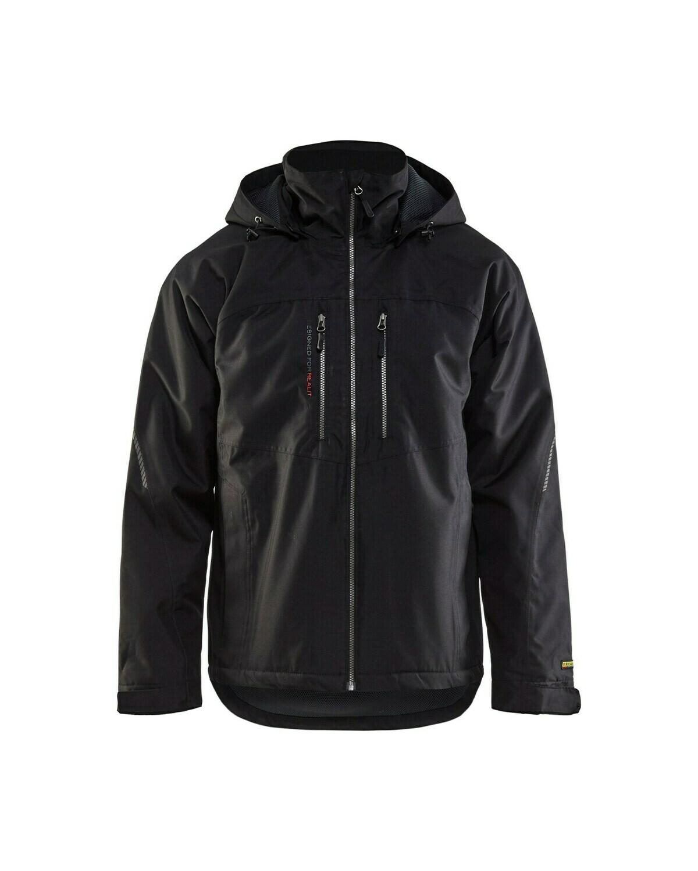 Bläkläder 4890 lichtgewicht winterjas - ZWART