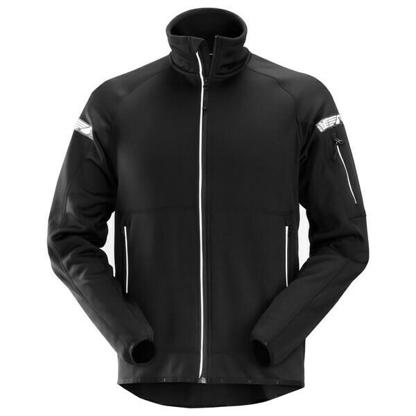 Snickers AllroundWork, 37.5® Technologie Fleece Jack - zwart