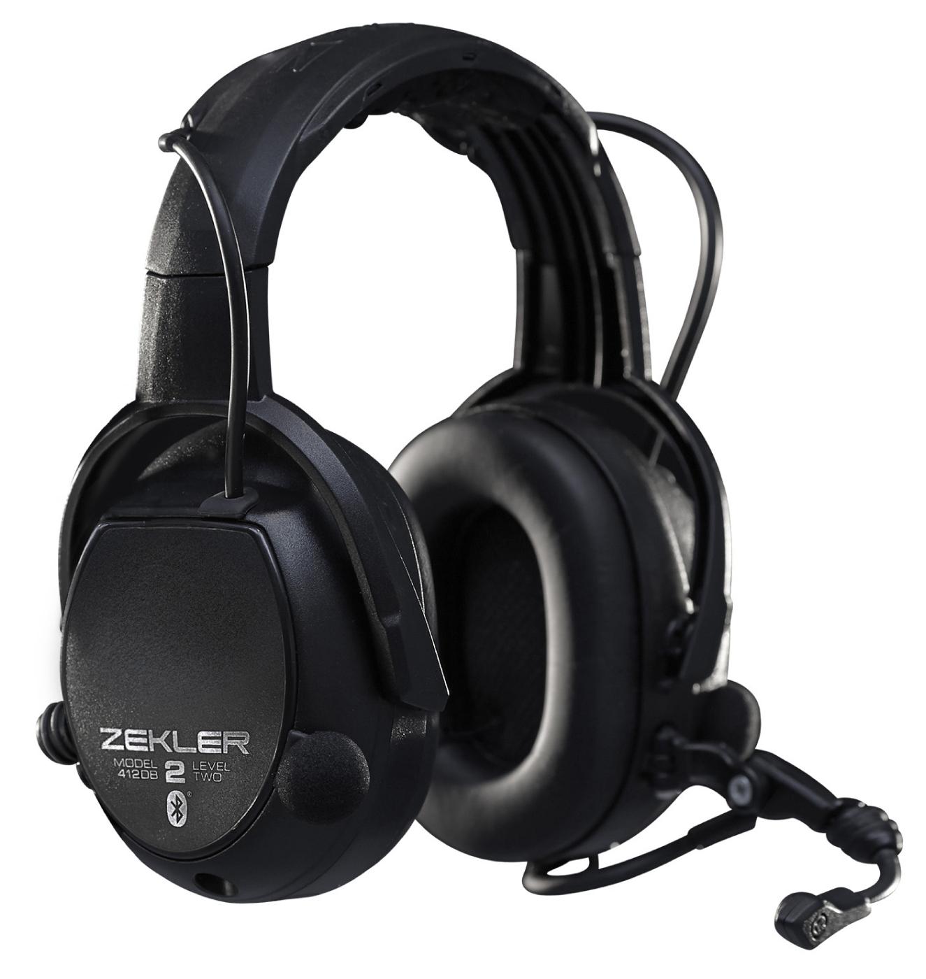 Zekler gehoorbescherming - bluetooth - FM radio - Level dependent system