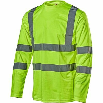 L.Brador high.Vis. t-shirt long sleeve 4006P