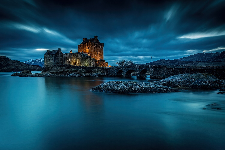 Eilean Donan Castle-  Highlands of Scotland