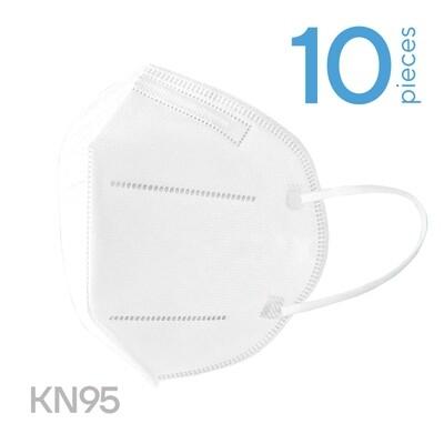 10 x FFP2 (KN95) respiratory face masks
