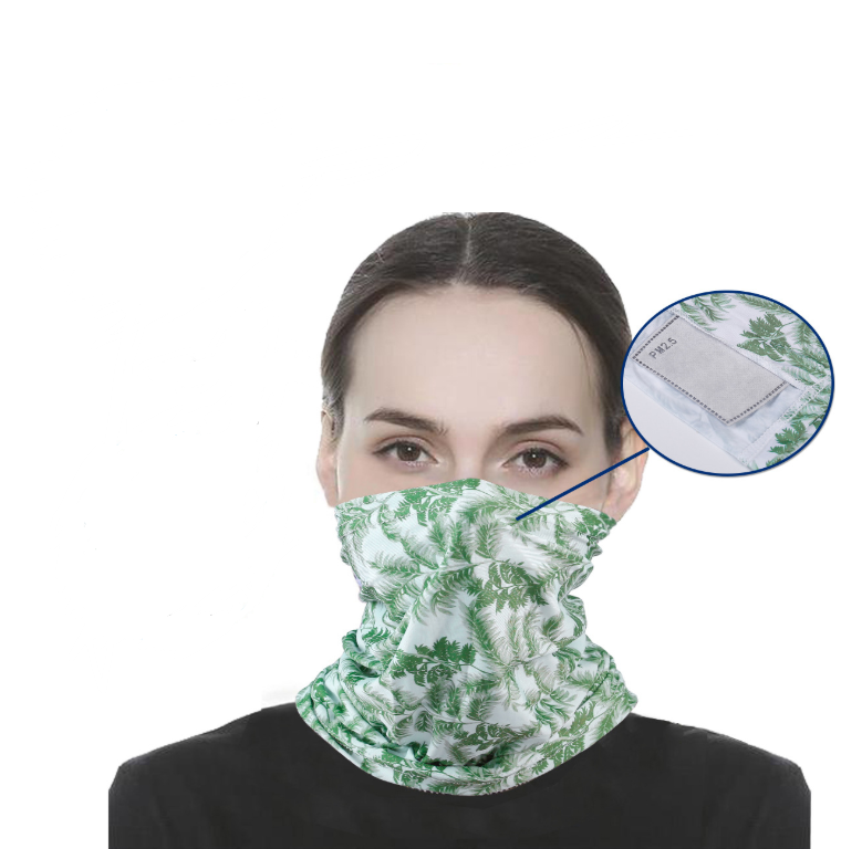 Snood with 4 Filters. Stylish, Washable and reusable.