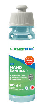 75% Alcohol Hand Sanitiser - 100ml - Pack of 5