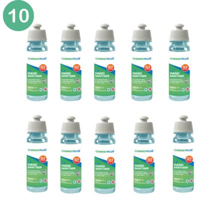75% Alcohol Hand Sanitiser - 100ml - Pack of 10