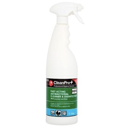 Clean Pro+ Fast Acting Antibacterial Cleaner & Disinfectant