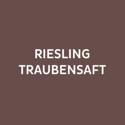 RIESLING TRAUBENSAFT