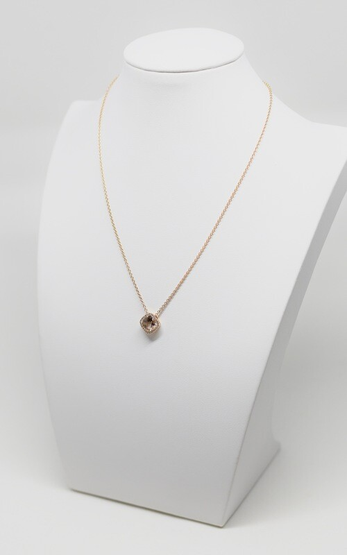 Collier en or rose 18k, longueur 42 cm
