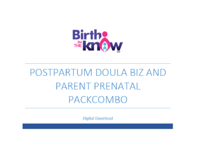 Postpartum Doula Biz Packet