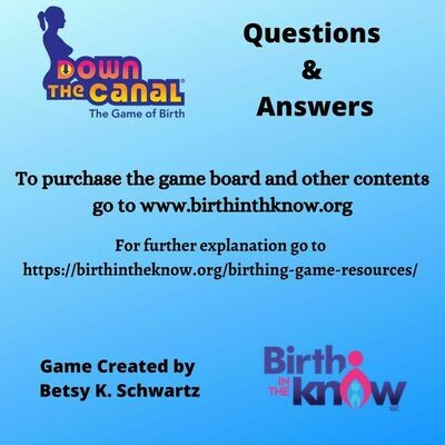Down the Canal 240 Questions Digital Download