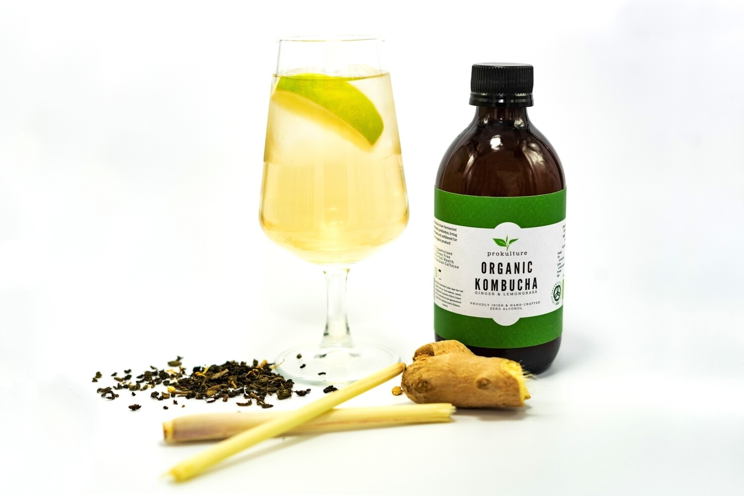 Ginger & Lemongrass Kombucha