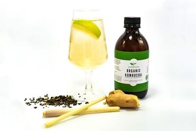Ginger & Lemongrass Kombucha