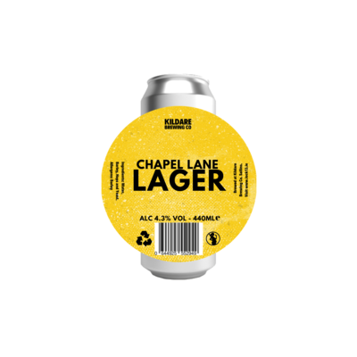 Chapel Lane Lager 440ml Can