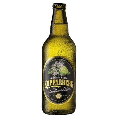 Koppaberg Elderflower & Lime Cider 500ml