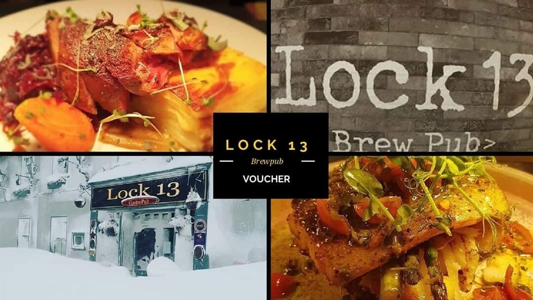 €150 Lock 13 Brewpub Voucher