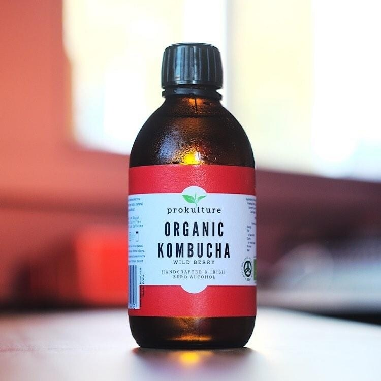 Case of Organic Wild Berry Kombucha