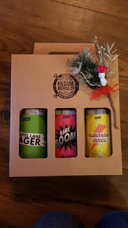 3 KBC Beer Gift Pack