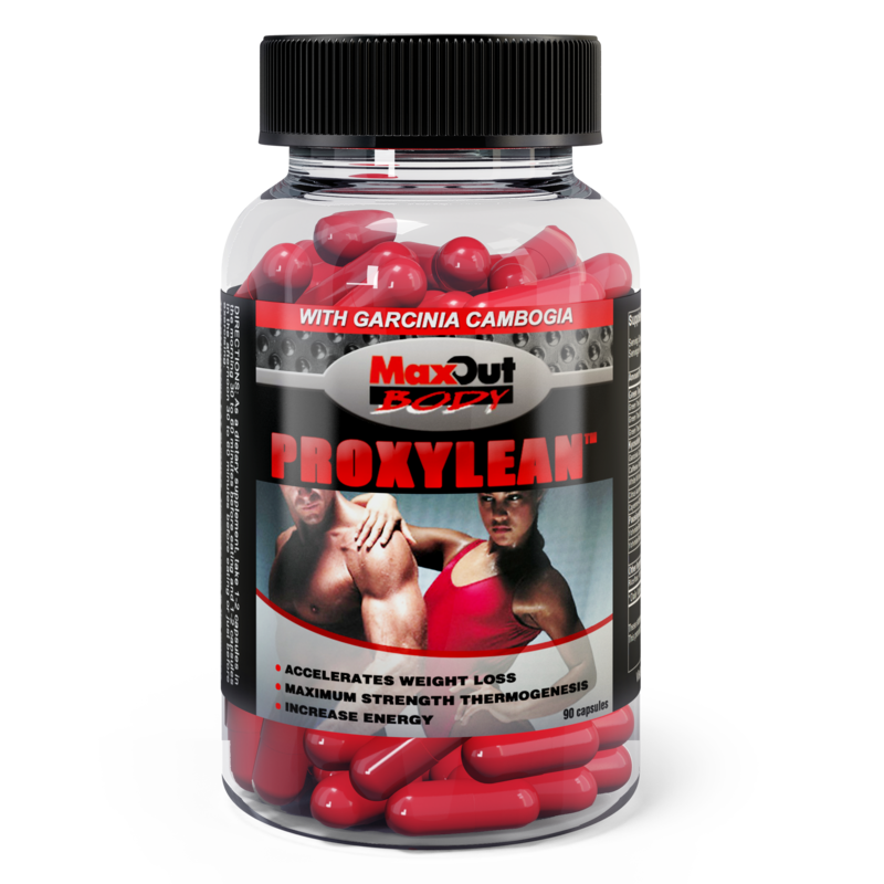 PROXYLEAN Thermogenic Fat Burner with Garcinia Cambogia