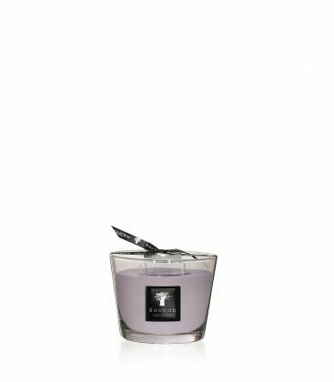 Bougie Baobab COLLECTION ALL SEASONS White Rhino. Max10. Hauteur 10cm. Heure de brûlage 60h. Santal- Vetiver.