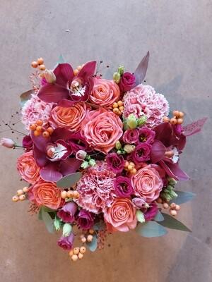 Boite de fleurs 22cm