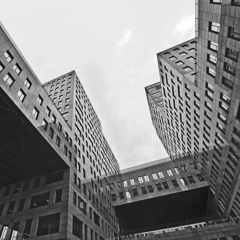 Businessgebäude Peking