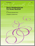 Bach Masterpieces For Brass Quartet [BQ5022][BQ5023]