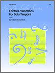 Fanfare Variations For Solo Timpani [TM5016]
