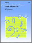 Suite For Timpani [TM6027]