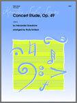 Concert Etude, Op. 49 [TU5013]