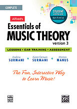 Alfred's Essentials of Music Theory: Software, Version 3 CD-ROM Student Version, Complete Volume