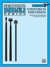 Overture in Percussion [PU4009]