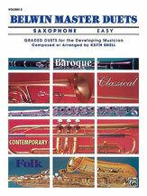 Belwin Master Duets (Saxophone), Easy Volume 2 [XD1002]