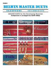 Belwin Master Duets (Saxophone), Intermediate Volume 1 [XD1002]