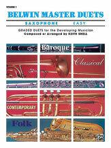 Belwin Master Duets (Saxophone), Easy Volume 1 [XD1005]