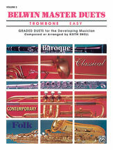 Belwin Master Duets (Trombone), Easy Volume 2 [RD2005]
