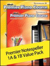 Premier Piano Course, Notespeller 1A & 1B (Value Pack)