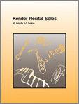 Kendor Recital Solos - Trombone - Piano Accompaniment