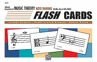 Alfred's Essentials of Music Theory: Flash Cards -- Note Naming