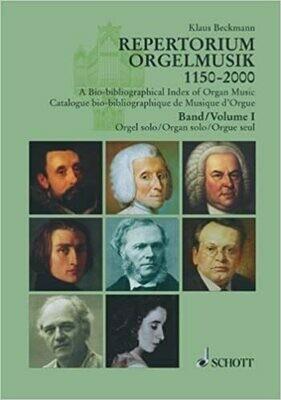 Repertorium Orgelmusik 1150-2000