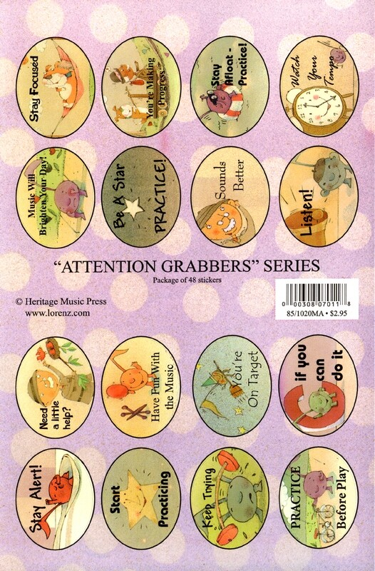 Stickers - Attention Grabbers Series