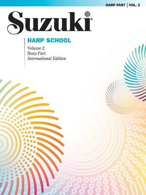 Suzuki Harp School Harp Part, Volume 2