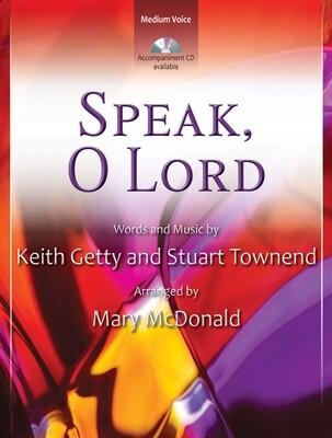 Speak, O Lord - Vocal Solo