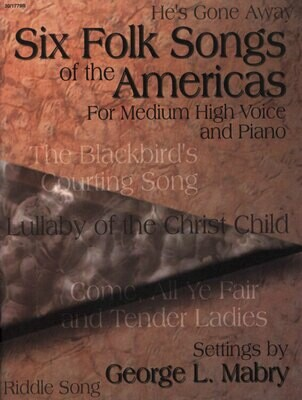 Six Folk Songs of the Americas