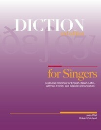 Diction for Singers, 2nd edition