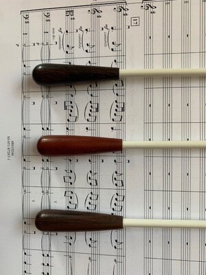 "Symphony baton - bocate wood handle - 12"""